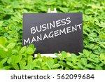 """business management "" words...   Shutterstock . vector #562099684"