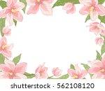 rectangular border frame... | Shutterstock .eps vector #562108120