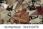 abstract pattern consisting of... | Shutterstock .eps vector #562122676