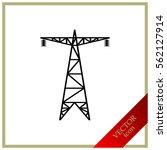 electric post  energy saving...   Shutterstock .eps vector #562127914