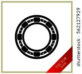 icon of bearing | Shutterstock .eps vector #562127929