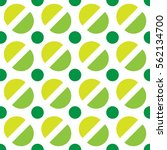 Green Oval Pattern Simply Gree...
