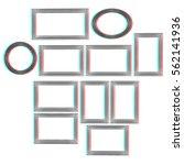 abstract frames. conceptual...   Shutterstock . vector #562141936