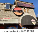 Small photo of LOS ANGELES, NOV 13TH, 2016: The facade of the historic Laugh Factory in Hollywood on the Sunset Strip, a comedy club which opened in 1979 and has hosted many of the most famous comics in the world.
