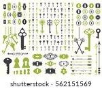 vector illustration with design ... | Shutterstock .eps vector #562151569