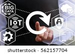 reload iot business integration ... | Shutterstock . vector #562157704