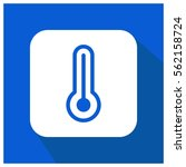 thermometer vector icon | Shutterstock .eps vector #562158724