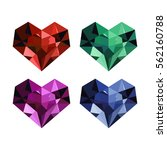 vector set of ruby  sapphire ...