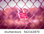 Two Hearts On Love Lockers On...
