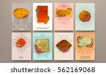 wedding invitation card or... | Shutterstock .eps vector #562169068