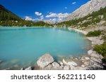 Amazing View Of Sorapis Lake...