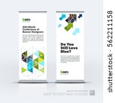 abstract business vector set of ... | Shutterstock .eps vector #562211158