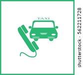 taxi | Shutterstock .eps vector #562211728