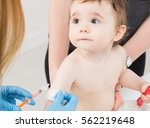 vaccine vaccination child baby... | Shutterstock . vector #562219648