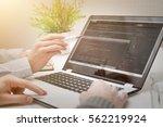 developer development web code... | Shutterstock . vector #562219924