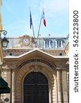 paris  france   july 4  2016 ... | Shutterstock . vector #562223800