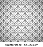 seamless wallpaper pattern ... | Shutterstock .eps vector #56223139