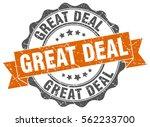great deal. stamp. sticker....   Shutterstock .eps vector #562233700