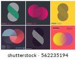 simplicity geometric design set ... | Shutterstock .eps vector #562235194