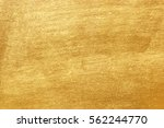 shiny yellow leaf gold foil... | Shutterstock . vector #562244770