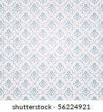 Blue Seamless Wallpaper Patter...