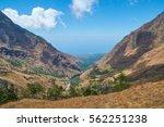 landscape view rinjani ... | Shutterstock . vector #562251238