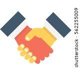 business partner vector icon | Shutterstock .eps vector #562255009