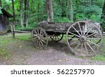 Small photo of Old carriage in Blue Ridge Mountains, Appalachian mountains, USA