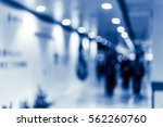blurred shopping mall background | Shutterstock . vector #562260760