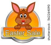 Easter Sale Button   3d...
