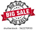 big sale. stamp. sticker. seal. ... | Shutterstock .eps vector #562270933