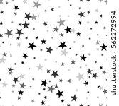 scandinavian seamless pattern... | Shutterstock .eps vector #562272994