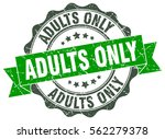 adults only. stamp. sticker.... | Shutterstock .eps vector #562279378