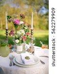 elegant beautiful decorated... | Shutterstock . vector #562279909