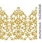 Seamless Pattern. Golden...