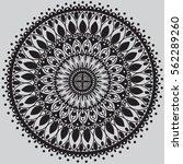 mandala. vintage decorative...   Shutterstock .eps vector #562289260