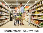 sale  consumerism and people... | Shutterstock . vector #562295758