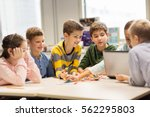 education  children  technology ... | Shutterstock . vector #562295803
