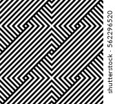 geometric pattern. vector... | Shutterstock .eps vector #562296520