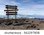 Uhuru Peak  Mt.kilimanjaro  Th...