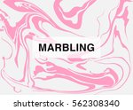 vector marbling background with ... | Shutterstock .eps vector #562308340