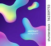 fluid substance abstract... | Shutterstock .eps vector #562309753