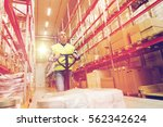 wholesale  logistic  loading ...   Shutterstock . vector #562342624