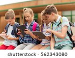 primary education  friendship ... | Shutterstock . vector #562343080