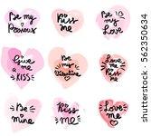 hand written phrase. vector... | Shutterstock .eps vector #562350634