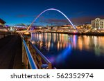 Twilight At Gateshead...