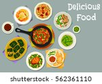 French Cuisine Meat Dishes Ico...