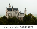 neuschwanstein castle in a... | Shutterstock . vector #562365229