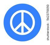 gay icon black. single gay icon ... | Shutterstock .eps vector #562370050