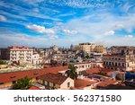 shot of old havana city  cuba | Shutterstock . vector #562371580